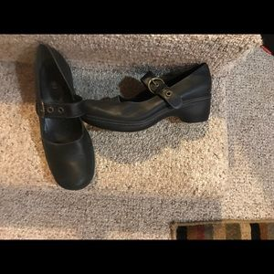 Ecco womens leather MARY JANES sz 42 or 11 nwot